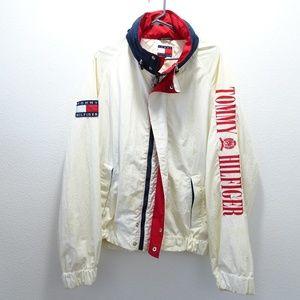 Vintage 90's Tommy Hilfiger Windbreaker Jacket XL